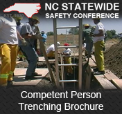 Competent Person Trenching Brochure